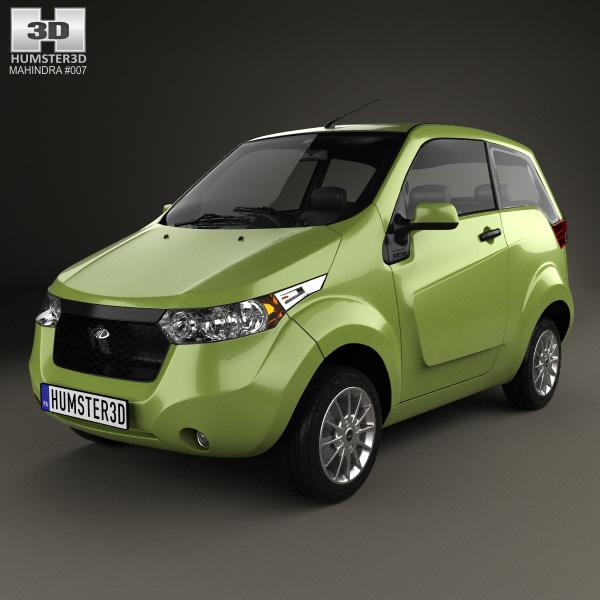 3D model of Mahindra e2o 2013