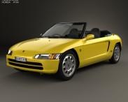 3D model of Honda Beat (PP1) 1991