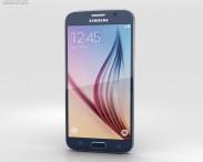3D model of Samsung Galaxy S6 Black Sapphire