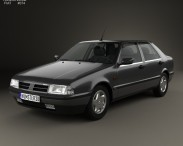 3D model of Fiat Croma (154) 1993