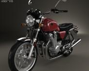 3D model of Honda CB 1100 2010