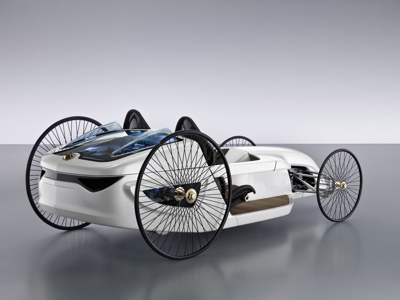 Mercedes-Benz F-Cell Roadster concept car - Humster3D ...