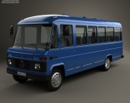 3D model of Mercedes-Benz O-309 1979