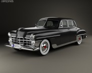 3D model of Chrysler New Yorker sedan 1950