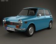 3D model of Honda N600 1970