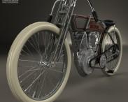 3D model of Harley-Davidson 11 K Racer 1915