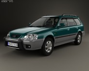 3D model of Honda Orthia (EL3) 1996