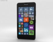 3D model of Microsoft Lumia 640 LTE Matte Black