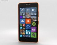 3D model of Microsoft Lumia 640 LTE Orange