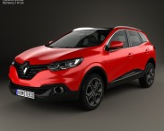 3D model of Renault Kadjar 2014