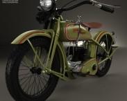 3D model of Harley-Davidson 26B 1926