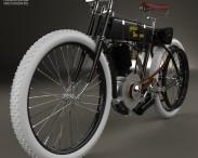 3D model of Harley-Davidson Model 1 1903