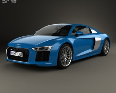 3D model of Audi R8 2016
