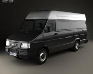 3D model of Iveco Daily Panel Van 1996