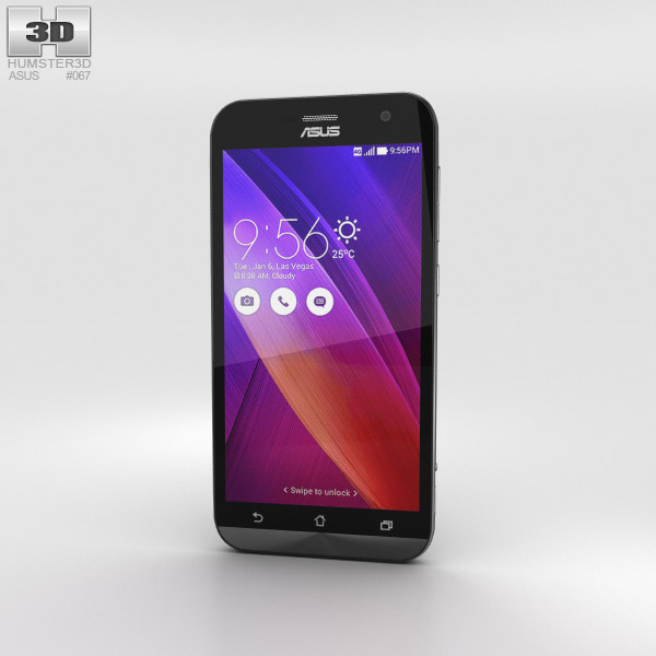 3D model of Asus Zenfone Zoom Meteorite Black