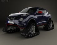 3D model of Nissan Juke Nismo RSnow 2015