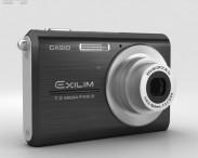 3D model of Casio Exilim EX-Z75 Black