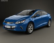 3D model of Chevrolet Volt 2015