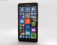 3D model of Microsoft Lumia 640 XL Orange