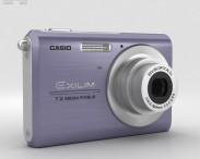 3D model of Casio Exilim EX-Z75 Blue