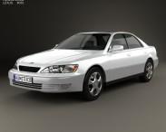 3D model of Lexus ES 1997