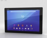 3D model of Sony Xperia Z4 Tablet LTE Black