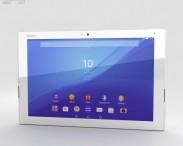 3D model of Sony Xperia Z4 Tablet LTE White