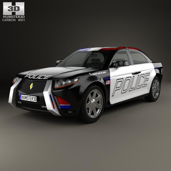 3D model of Carbon E7 2012