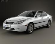 3D model of Lexus ES 2004