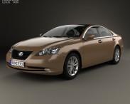 3D model of Lexus ES 2009