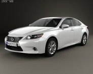 3D model of Lexus ES 2013