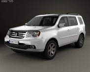 3D model of Honda Pilot (CIS) 2011