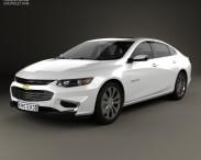 3D model of Chevrolet Malibu 2016