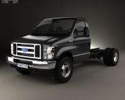 3D model of Ford E-450 Cutaway 2011