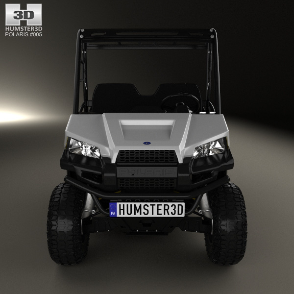 Polaris Ranger EV 2015 3D model - Humster3D