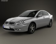 3D model of Mitsubishi Galant (CN) 2004