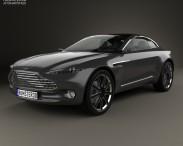 3D model of Aston Martin DBX 2015