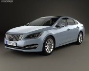 3D model of Hyundai AG (Aslan) 2014