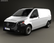 3D model of Mercedes-Benz Metris Panel Van 2014