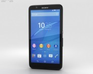 3D model of Sony Xperia E4g Black
