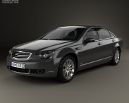 3D model of Chevrolet Caprice Royale 2014