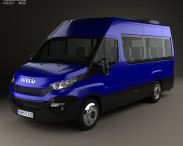 3D model of Iveco Daily Passenger Van 2014