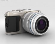 3D model of Olympus PEN E-PL5 Silver