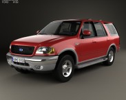 3D model of Ford Expedition 1998