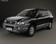3D model of Hyundai Santa Fe (SM) 2004