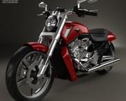 3D model of Harley-Davidson V-Rod Muscle 2010