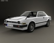 3D model of Honda Prelude 1978