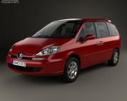 3D model of Peugeot 807 2008