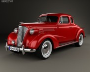 3D model of Chevrolet Master DeLuxe (GA) 1937