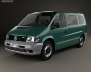 3D model of Mercedes-Benz Vito (W638) Passenger Van 1996